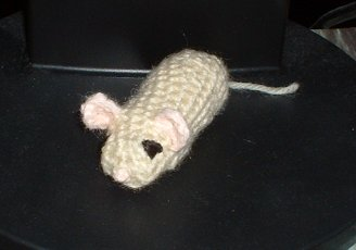 Little Amigurumi Mouse