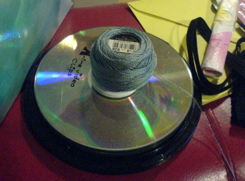 Alternative Use for CD Spindle